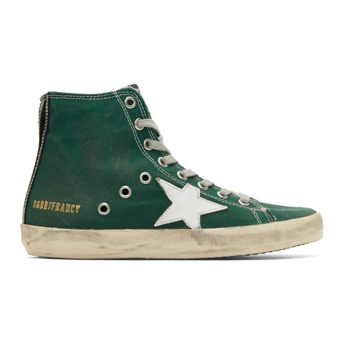 Golden Goose Green Francy Sneakers