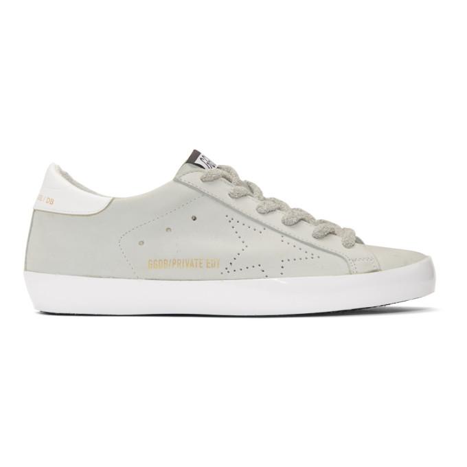 Golden GooseWhite Sunday Superstar Sneakers