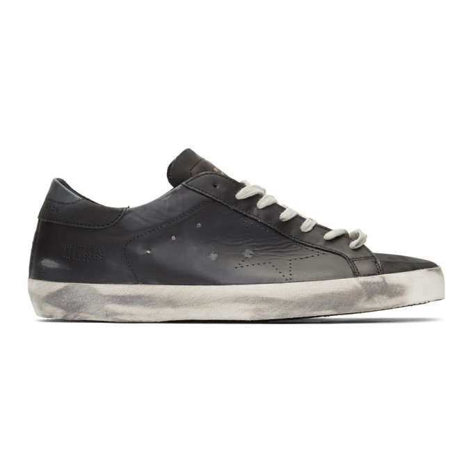GOLDEN GOOSE GOLDEN GOOSE BLACK SKATE SUPERSTAR SNEAKERS