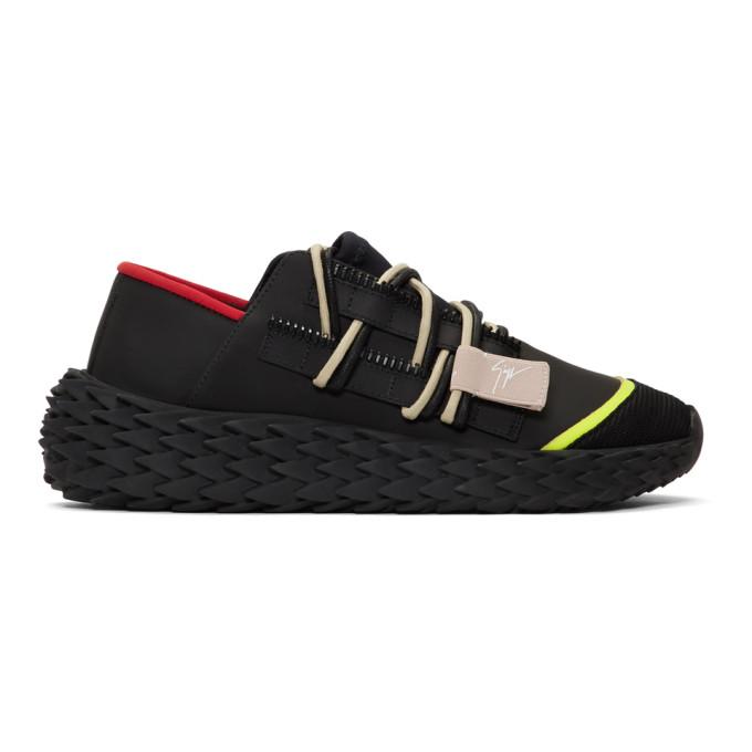 84d5c0997eeab Giuseppe Zanotti Black Urchin Sneakers