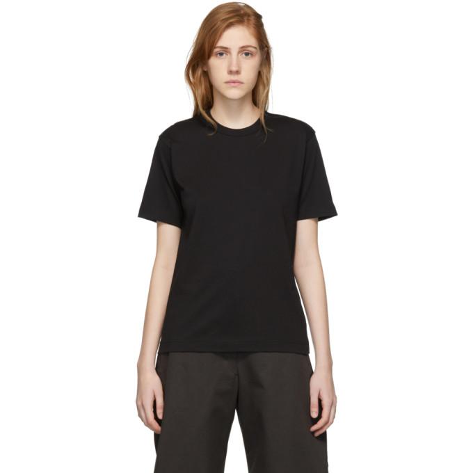 Image of Comme des Garçons Shirt Black Logo Men's Fit T-Shirt