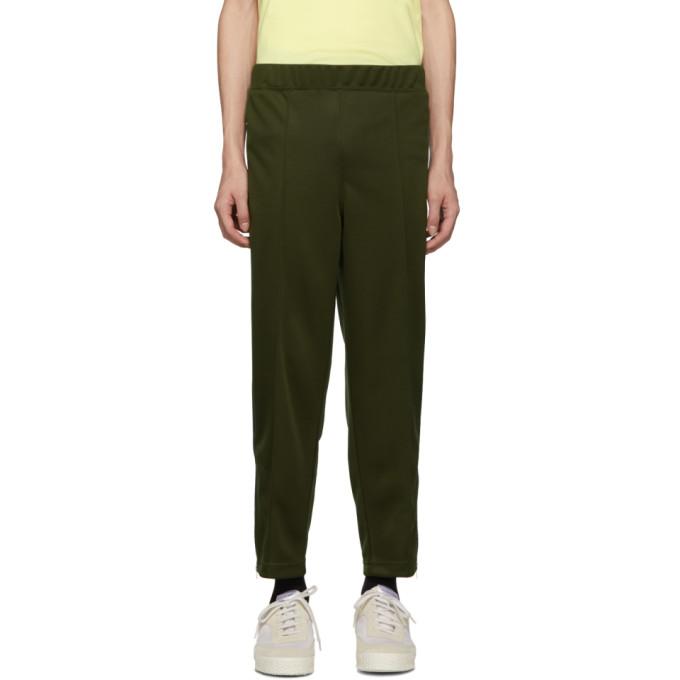 Image of Comme des Garçons Shirt Khaki Tape Track Pants