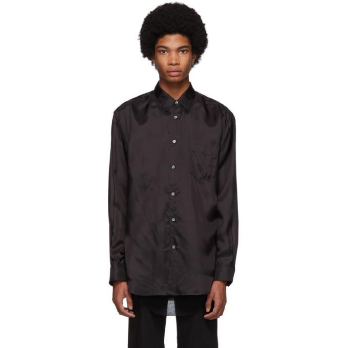 Image of Comme des Garçons Shirt Black Lining Shirt