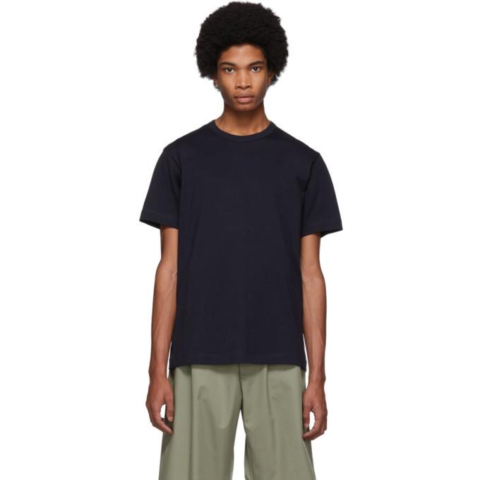 Image of Comme des Garçons Shirt Navy Forever T-Shirt