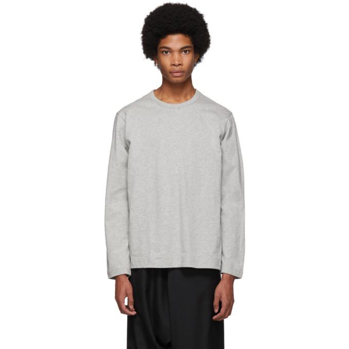 Image of Comme des Garçons Shirt Grey Forever Long-Sleeve T-Shirt