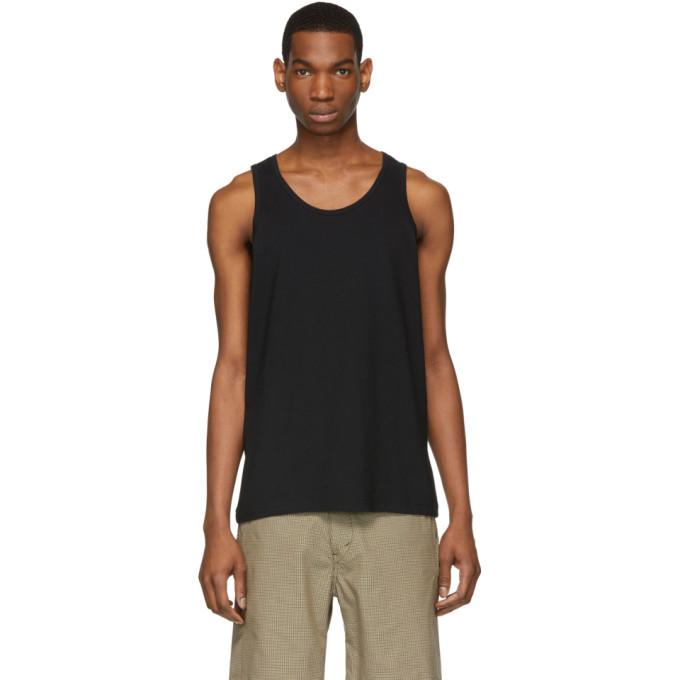Image of Comme des Garçons Shirt Black Tank Top