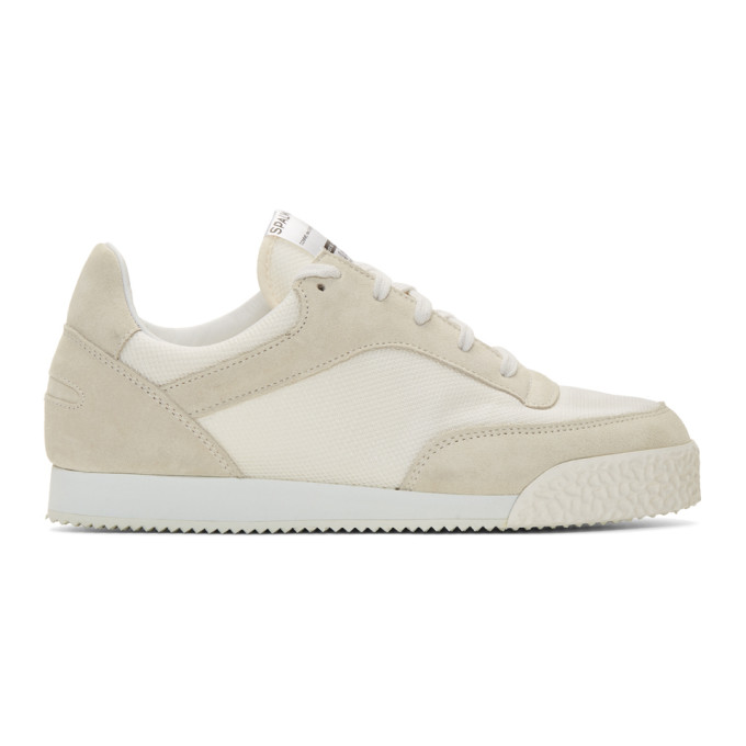Image of Comme des Garçons Shirt White Spalwart Edition Pitch Sneakers