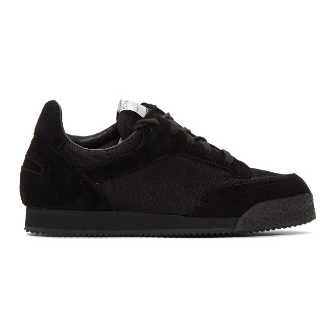 Image of Comme des Garçons Shirt Black Spalwart Edition Pitch Sneakers