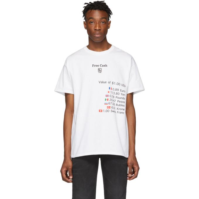 Hot Mess T-shirt blanc Free Cash exclusif a SSENSE