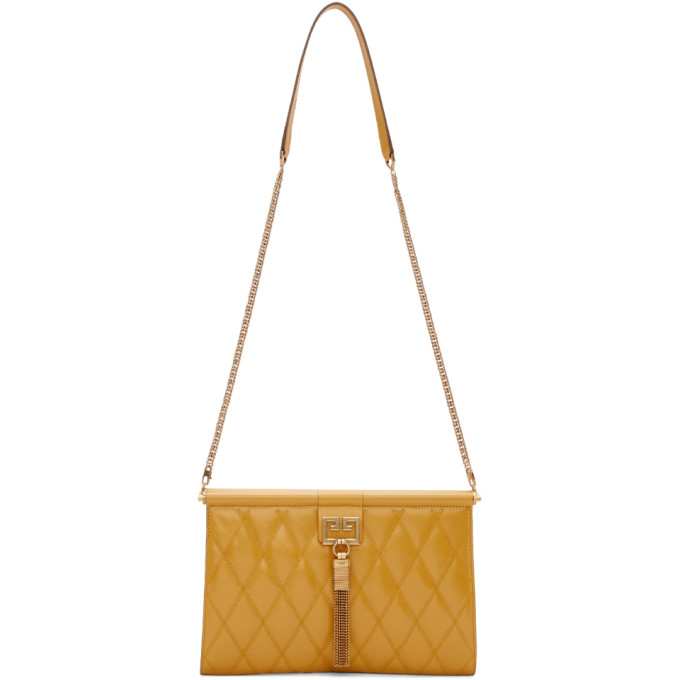 Givenchy Yellow Medium Gem Bag