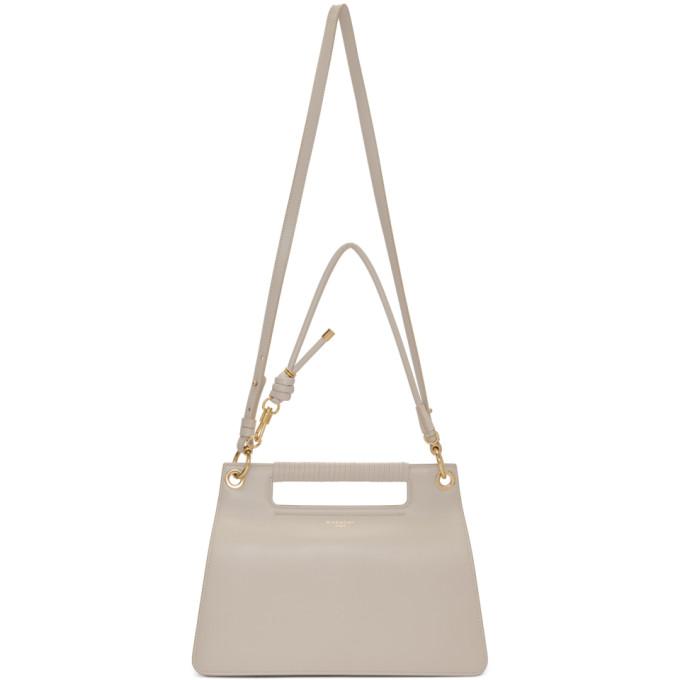 GIVENCHY | Givenchy Off-White Medium Whip Bag | Goxip