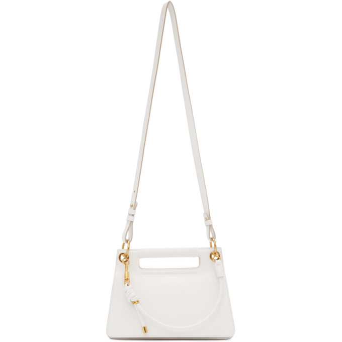 Givenchy White Small Whip Bag