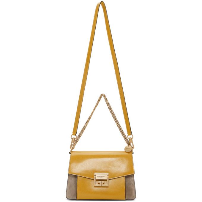 Givenchy Yellow & Taupe Small GV3 Bag