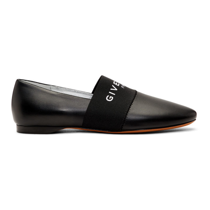 Givenchy Black Bedford Ballerina Flats