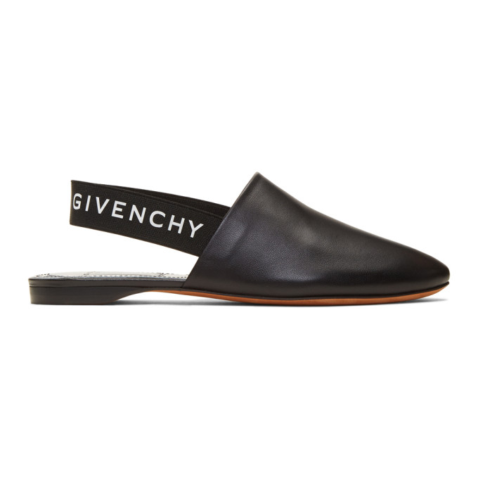 Givenchy Black Elastic Rivington Loafers