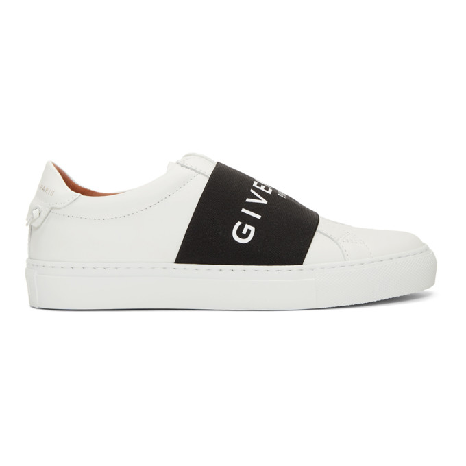 Givenchy White Strap Urban Knots Sneakers