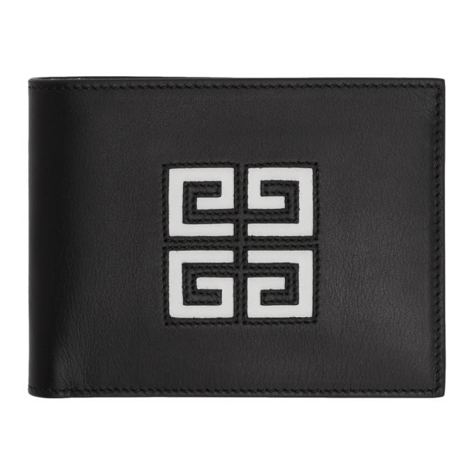 Givenchy ブラック カットアウト 4G ウォレット