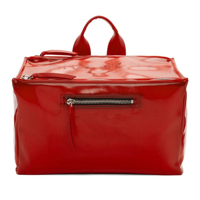 Givenchy Red Pandora Messenger Bag