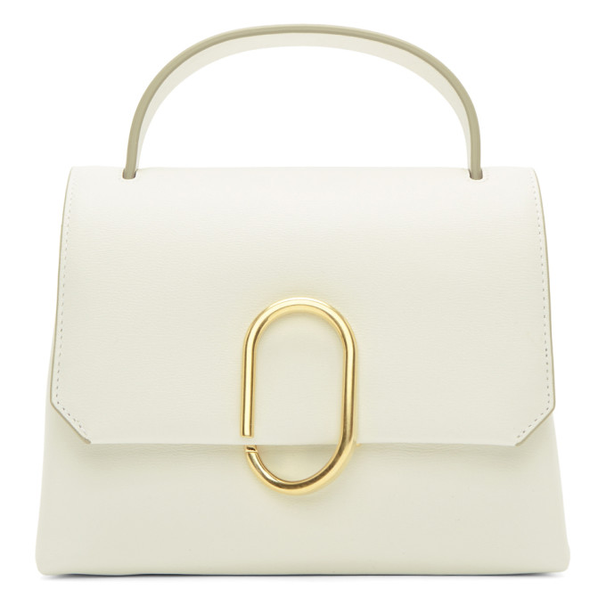 31 Phillip Lim White Mini Alix Top Handle Satchel