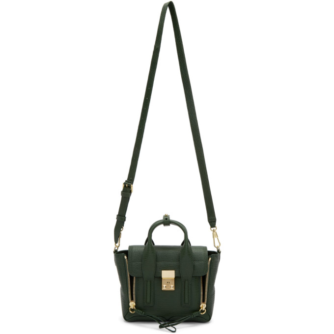 31 Phillip Lim Green Mini Pashli Satchel