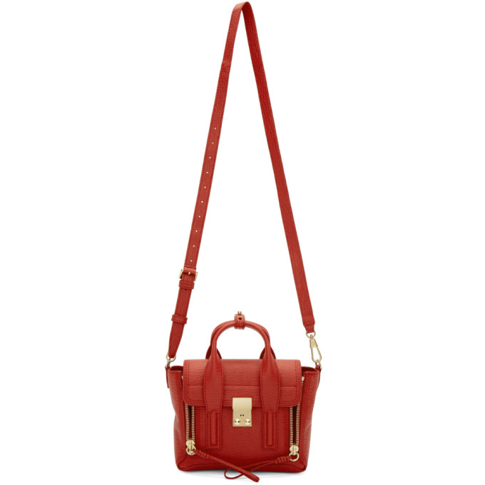 31 Phillip Lim Red Mini Pashli Satchel