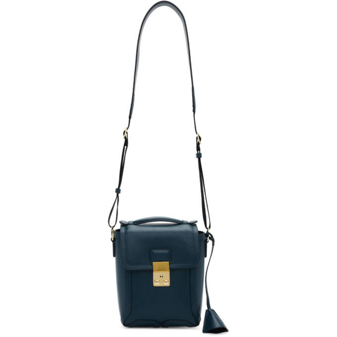 3.1 Phillip Lim Blue Pashli Camera Bag