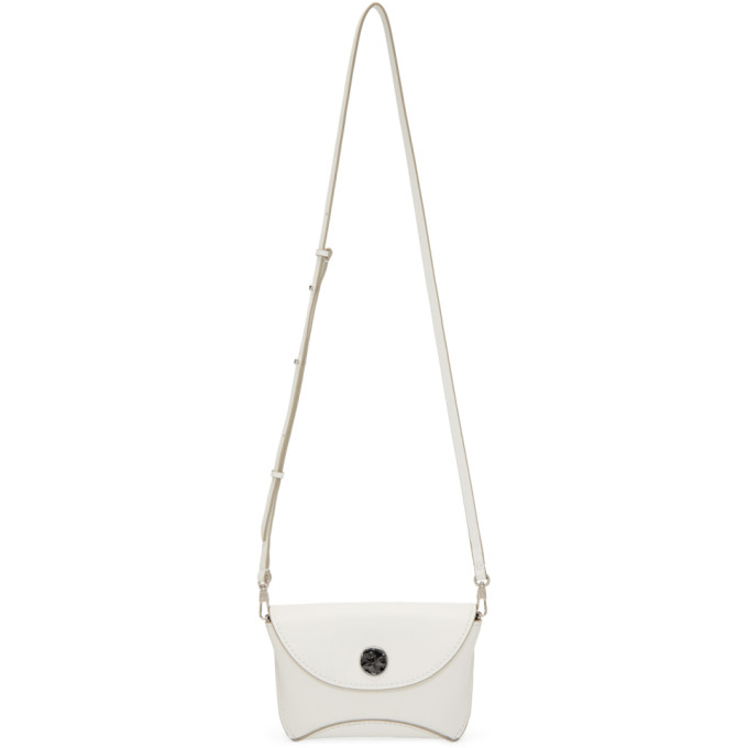 31 Phillip Lim White Hammered Hudson Bag