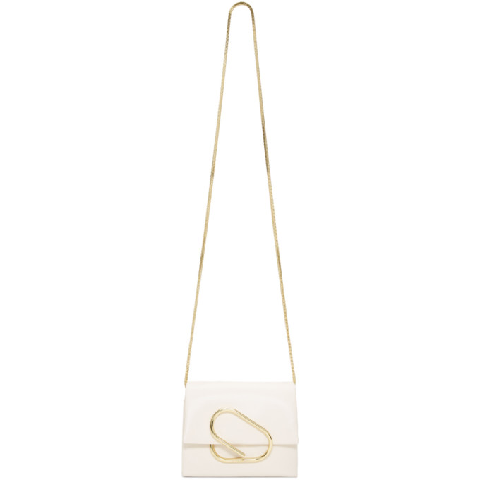 31 Phillip Lim White Micro Alix Crossbody Bag