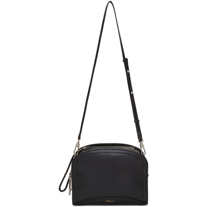3.1 Phillip Lim Black Small Hudson Rectangle Crossbody Bag