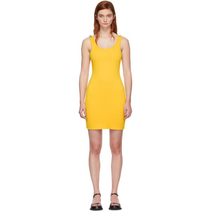 31 Phillip Lim Yellow Rib Knit Dress