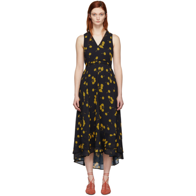 3.1 Phillip Lim Black Maxi Dress