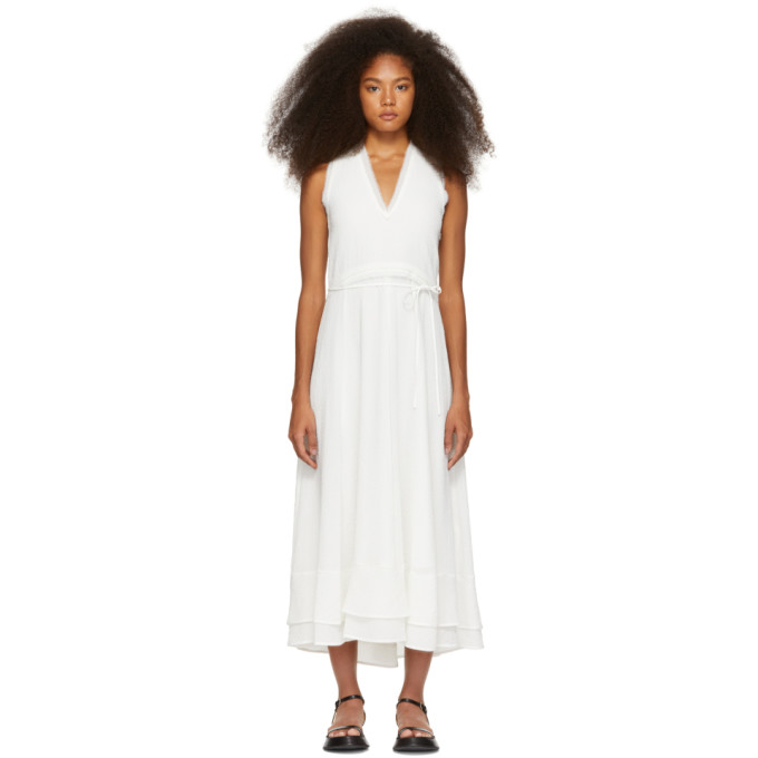 3.1 Phillip Lim White Bubble Georgette Dress