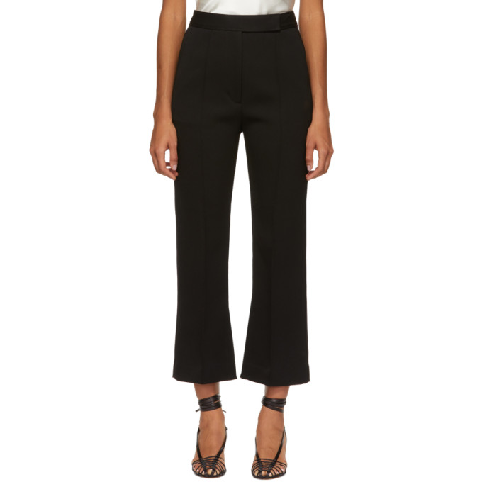 3.1 Phillip Lim Black Slit Tailored Trousers