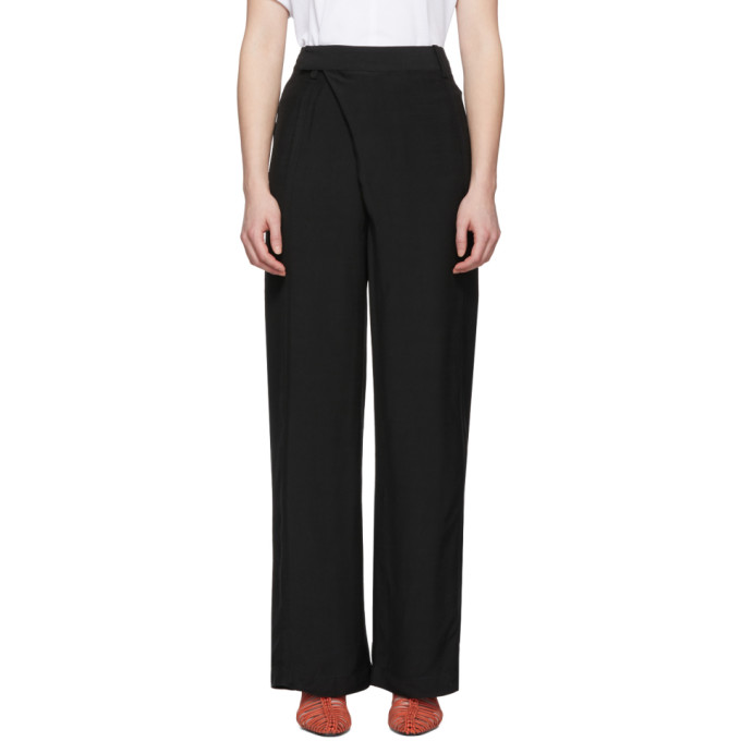3.1 Phillip Lim Black Sateen Trousers