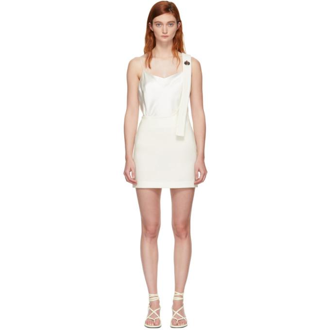 31 Phillip Lim White Single Strap Miniskirt