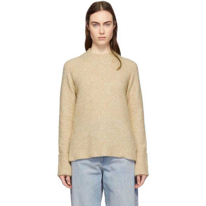 Image of 3.1 Phillip Lim Beige Lofty Raglan Sweater
