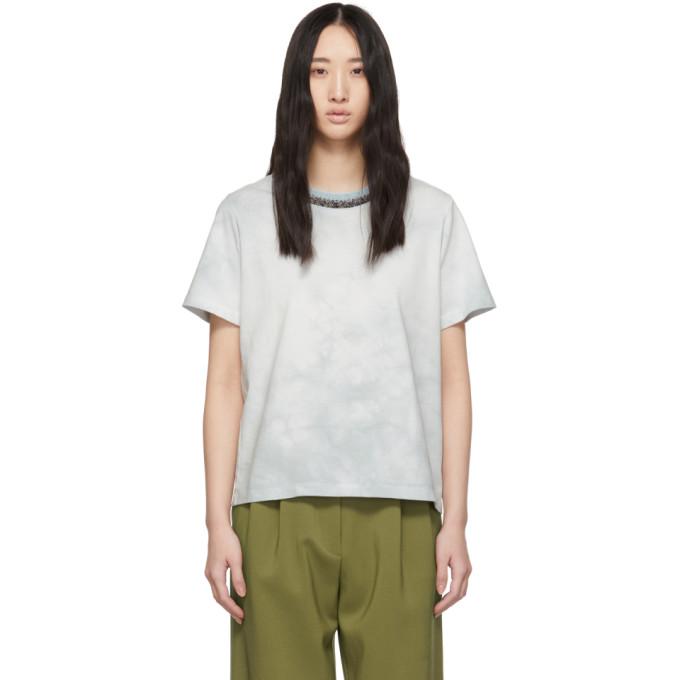 31 Phillip Lim Blue Tie Dye T Shirt