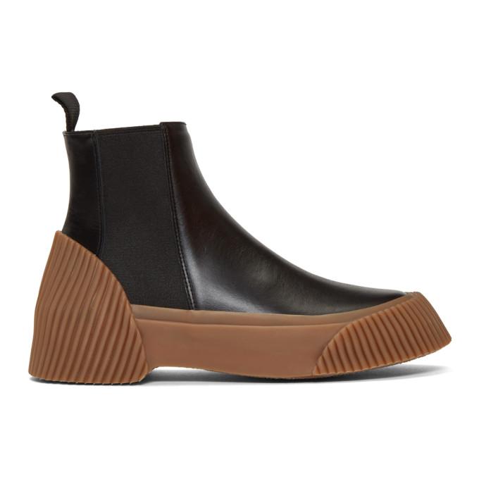 31 Phillip Lim Black Lela Vulcanized Chelsea Boots