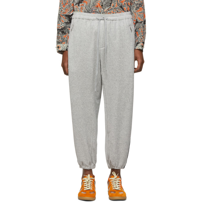 31 Phillip Lim Grey Side Stripe Baggy Lounge Pants