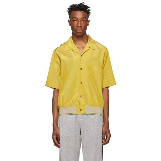 3.1 Phillip Lim Yellow Ribbed Hem Souvenir Shirt
