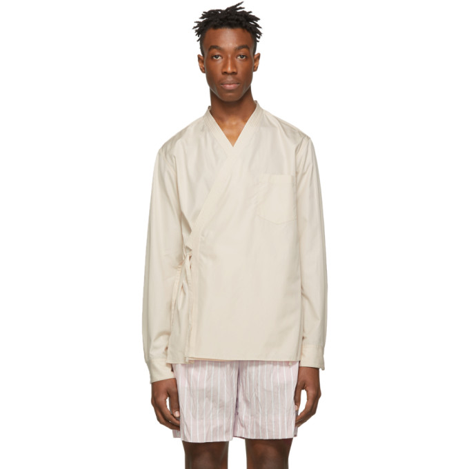 31 Phillip Lim Beige Kimono Style Shirt