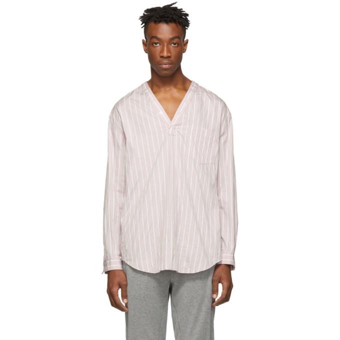3.1 Phillip Lim Pink V Neck Shirt