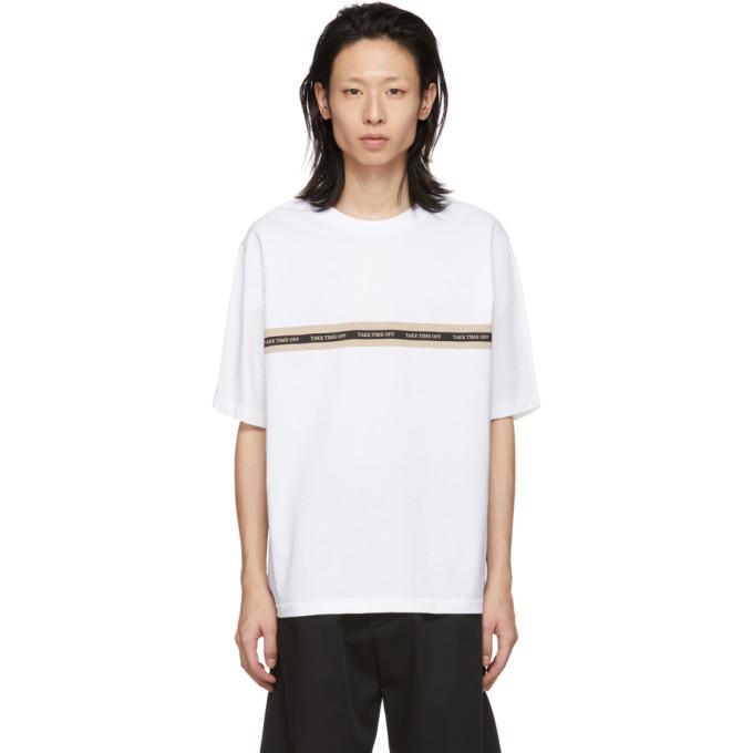 31 Phillip Lim White Time Off T Shirt