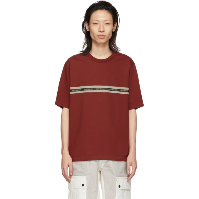 31 Phillip Lim Red Time Off T Shirt