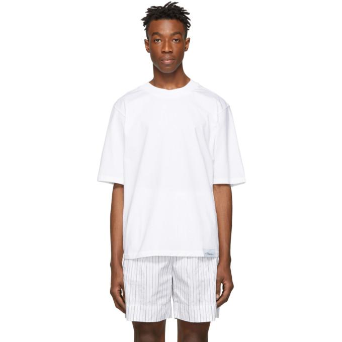 31 Phillip Lim White Oversized Boxy T Shirt