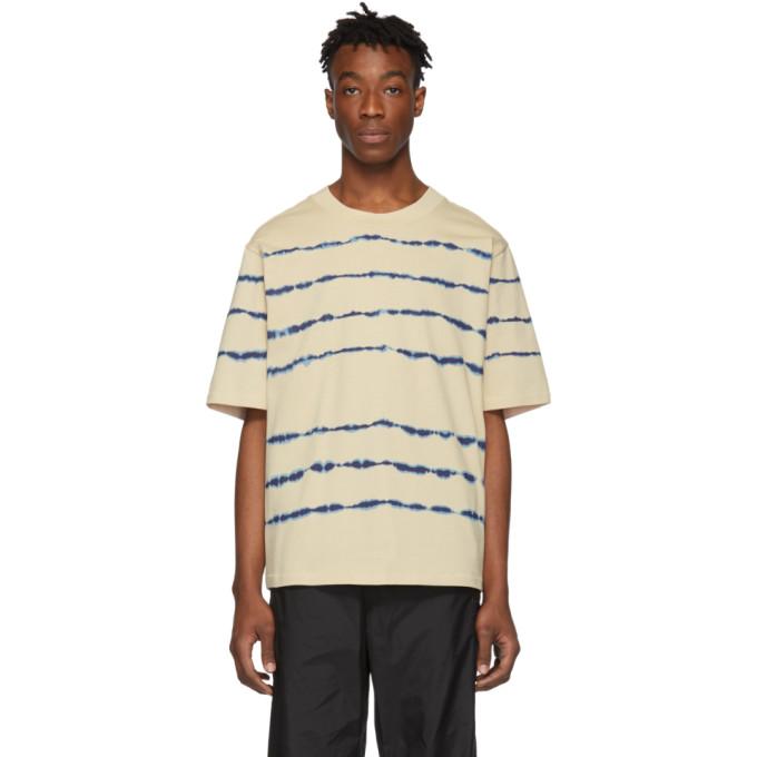 31 Phillip Lim Taupe Tie Dye Boxy T Shirt