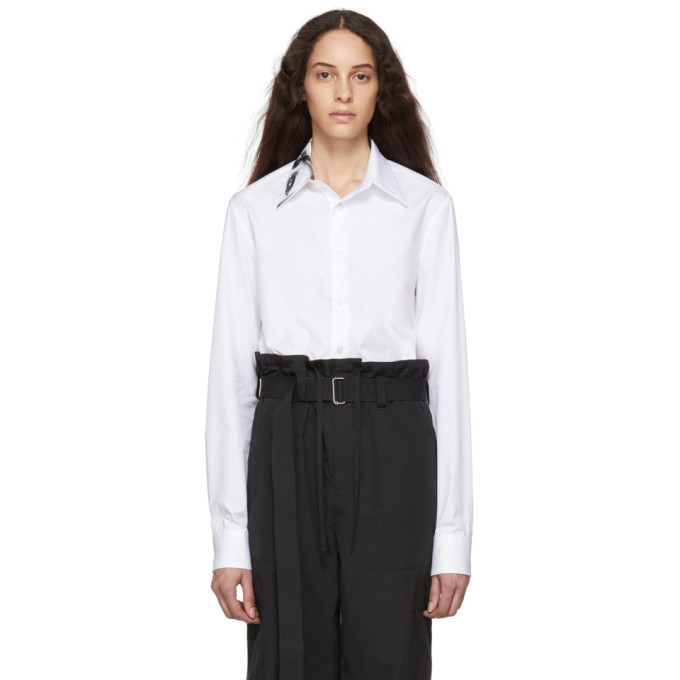 Raf Simons Chemise blanche Small Fit Punkette