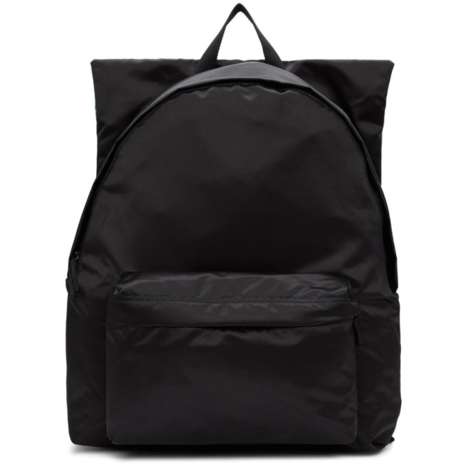 BUY Raf Simons Black and Blue Eastpak Edition Poster Backpack ... 6082707457