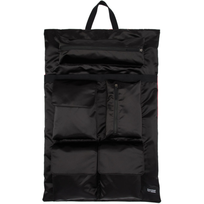 Raf Simons Black & Pink Eastpak Edition Poster Backpack