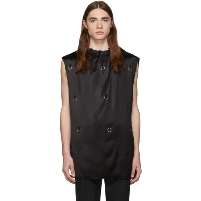 Raf Simons Chemise noire Couture
